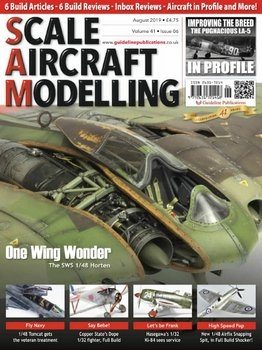 Scale Aircraft Modelling 2019-08