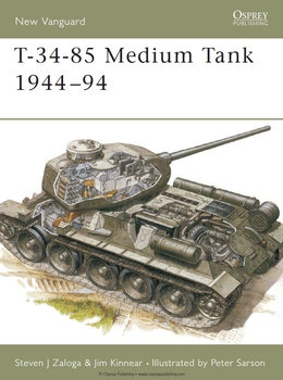 T-34-85 Medium Tank 1944-1994 (Osprey New Vanguard 20)