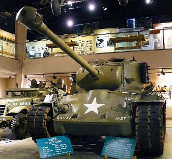 T26E3 Pershing Tank Walk Around