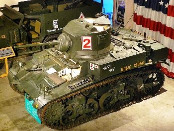 M3A1 Stuart Light Tank Walk Around