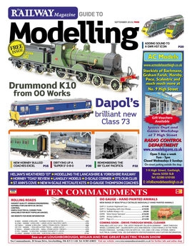 The Railway Magazine Guide to Modelling 2019-09