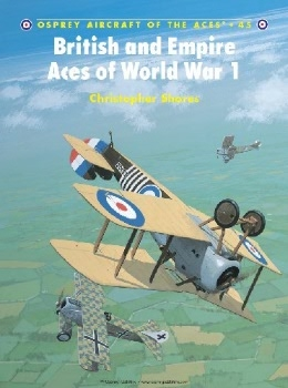British and Empire Aces of World War I (Osprey Aircraft of the Aces 45)