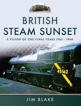 British Steam Sunset