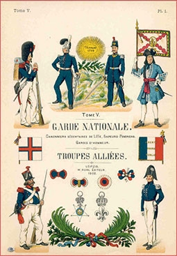Les Uniformes de I'Armee Francaise (1690-1894) Tome V (Garde Nationale. Troupes Alliees)