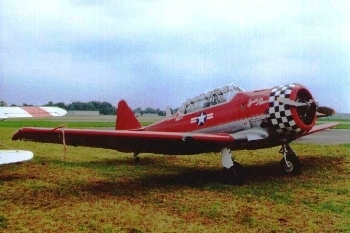 North American T-6 Texan/Harvard Walk Around