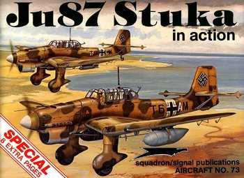 Ju 87 Stuka in Action (Squadron Signal 1073)