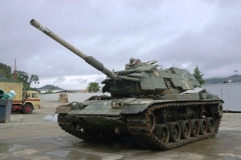 M60A1 With reactive armor Walk Around