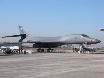 B-1B Lancer Walk Around