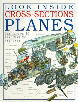 Look Inside Cross-Sections Planes (DK Books)