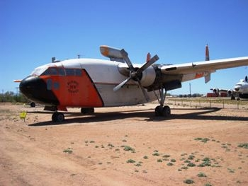 C-119C Flying Boxcar Fire Tanker Walk Around