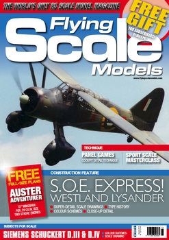 Flying Scale Models 2019-08