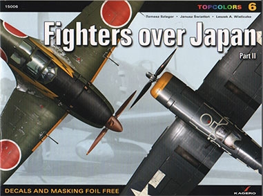 Fighters Over Japan Part II (Kagero Topcolors 15006)
