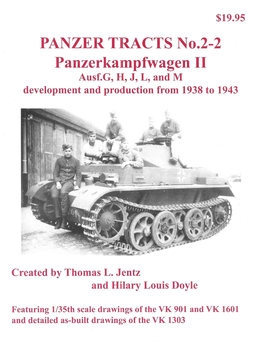 Panzerkampfwagen II Ausf.G, H, J, L, and M (Panzer Tracts No.2-2)