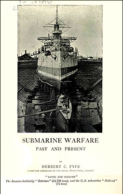 Submarine Warfare. Post and present