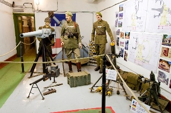 Maginot Line Museum - Small Arms & Uniforms Photos