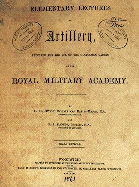 Elementary Lectures on Artillery