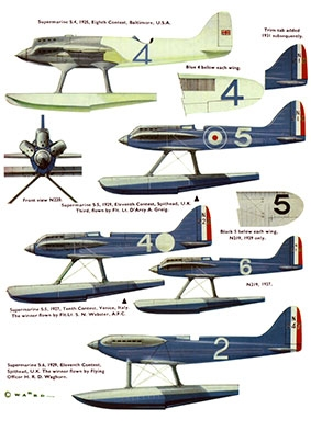 Supermarine S4-S6B [Aircraft Profile 39]