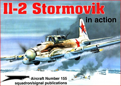 Squadron Signal - Aircraft In Action 1155 IL-2 Stormovik