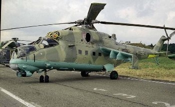 Mil Mi-24 Hind Walk Around