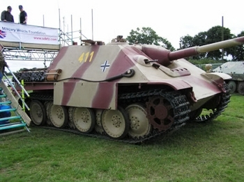 Jagdpanther Walk Around