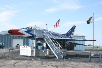 Nebraska Gate Guards, Outside Museum Displays and Air Parks Photos