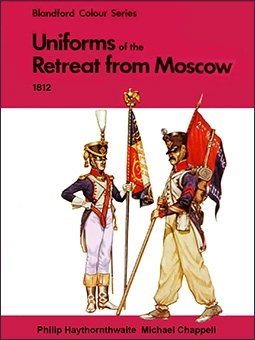 Uniforms of the Retreat From Moscow, 1812 in color