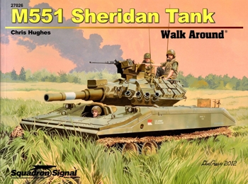 M551 Sheridan Tank Walk Around (Squadron Signal 5726)