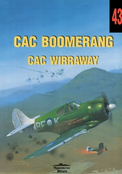 CAC Boomerang CAC Wirraway (Wydawnictwo Militaria 43)