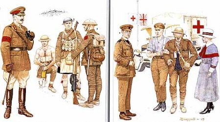 Osprey Men-at-Arms 391 - The British Army in World War I (1)